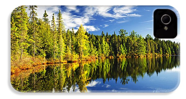 Forest Reflecting In Lake IPhone 4 Case
