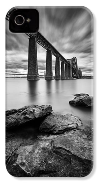 Forth Bridge IPhone 4 Case by Dave Bowman