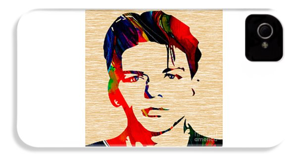 Frank Sinatra Art IPhone 4 Case by Marvin Blaine
