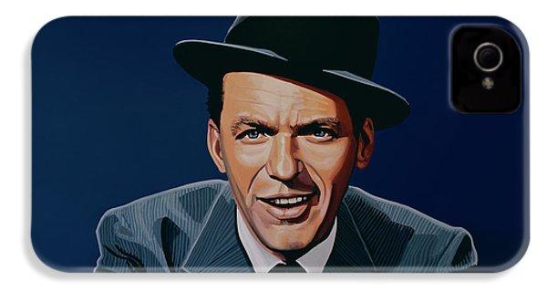 Frank Sinatra IPhone 4 Case by Paul Meijering