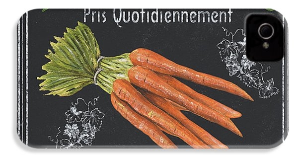 French Vegetables 4 IPhone 4 / 4s Case by Debbie DeWitt
