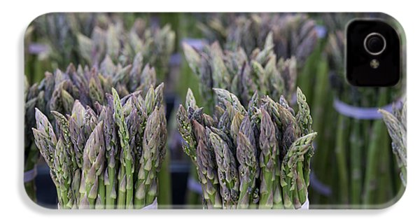 Fresh Asparagus IPhone 4 / 4s Case by Mike  Dawson
