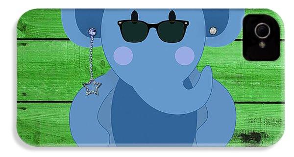 Friendly Elephant Art IPhone 4 / 4s Case by Marvin Blaine