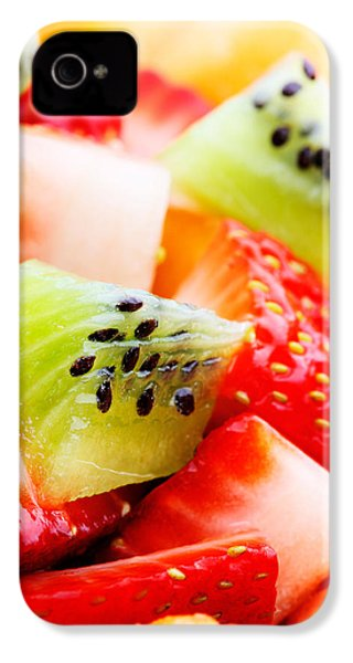 Fruit Salad Macro IPhone 4 Case by Johan Swanepoel