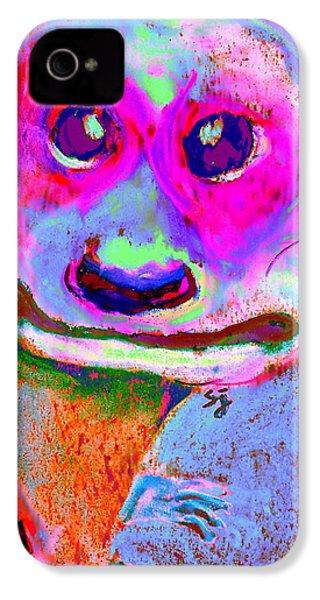 Funky Meerkat Tunnel Art Print IPhone 4 Case