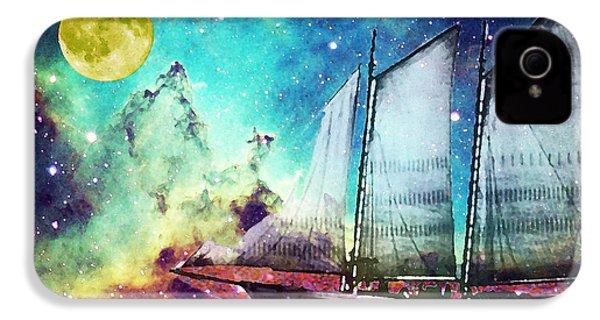 Galileo's Dream - Schooner Art By Sharon Cummings IPhone 4 Case