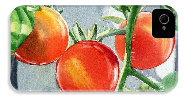 Garden Cherry Tomatoes  IPhone 4 Case