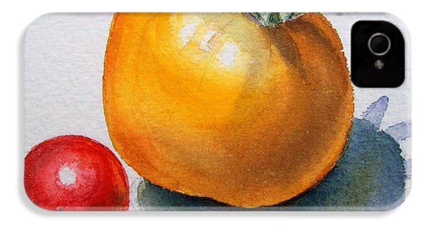Garden Tomatoes IPhone 4 Case by Irina Sztukowski