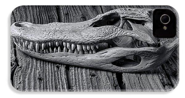 Gator Black And White IPhone 4 Case