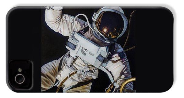 Gemini Iv- Ed White IPhone 4 Case