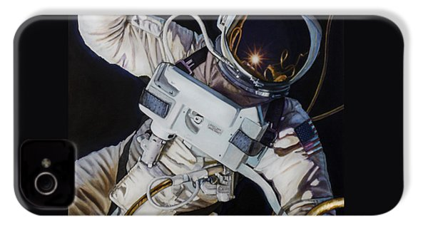 Gemini Iv- Ed White IPhone 4 / 4s Case by Simon Kregar