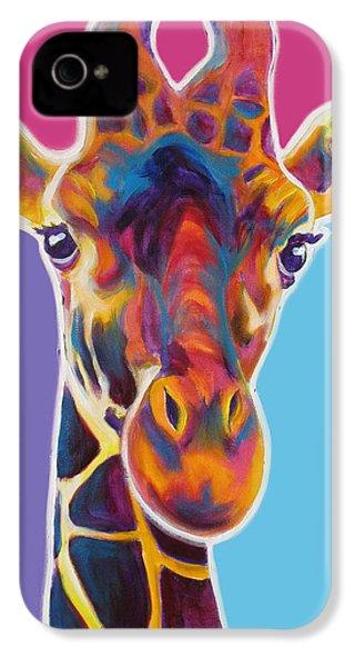 Giraffe - Marius IPhone 4 / 4s Case by Alicia VanNoy Call