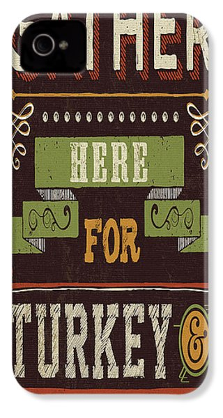 Give Thanks I IPhone 4 / 4s Case by Pela Studio