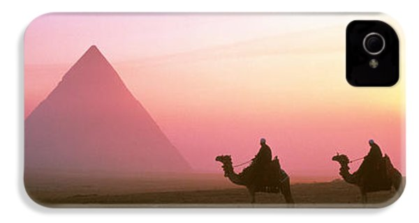 Giza Pyramids Egypt IPhone 4 Case by Panoramic Images