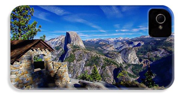 Glacier Point Yosemite National Park IPhone 4 Case by Scott McGuire