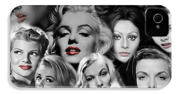 Glamour Girls 1 IPhone 4 Case by Andrew Fare