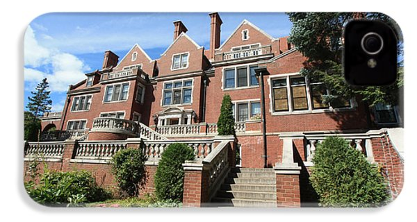 Glensheen Mansion Exterior IPhone 4 Case by Amanda Stadther