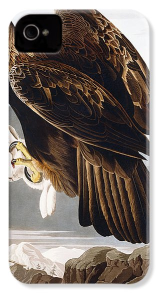 Golden Eagle IPhone 4 / 4s Case by John James Audubon