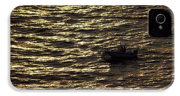 IPhone 4 Case featuring the photograph Golden Ocean by Miroslava Jurcik
