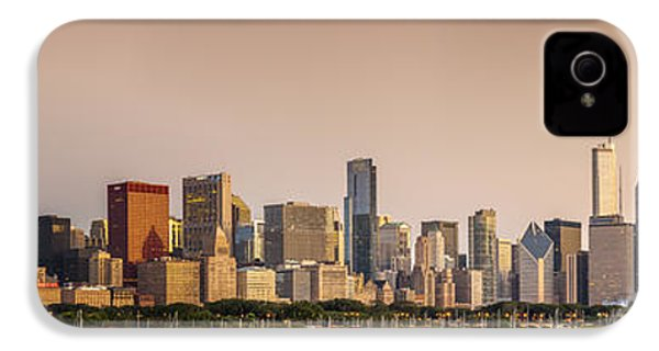 Good Morning Chicago IPhone 4 Case by Sebastian Musial