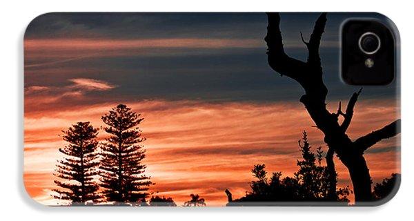 IPhone 4 Case featuring the photograph Good Night Trees by Miroslava Jurcik