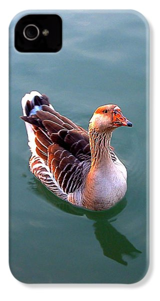 Goose IPhone 4 Case by Marc Philippe Joly