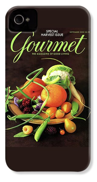 Gourmet Cover Featuring A Variety Of Fruit IPhone 4 Case by Romulo Yanes