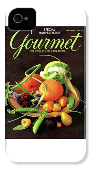Gourmet Cover Featuring A Variety Of Fruit IPhone 4 Case