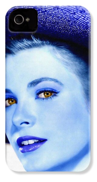 Grace Kelly IPhone 4 Case by Art Cinema Gallery