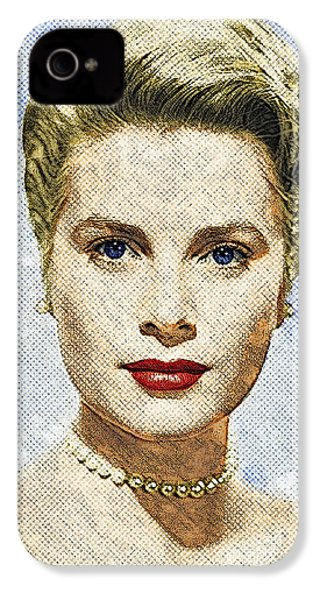 Grace Kelly IPhone 4 Case by Taylan Apukovska