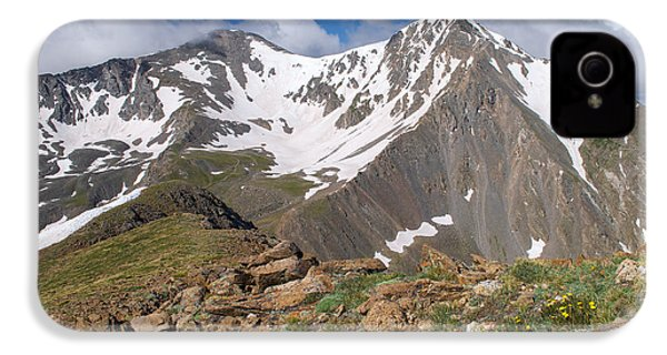 Grays And Torreys Peak IPhone 4 Case by Aaron Spong
