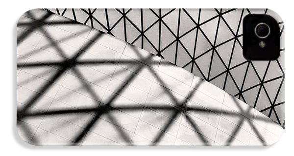 Great Court Abstract IPhone 4 / 4s Case by Rona Black