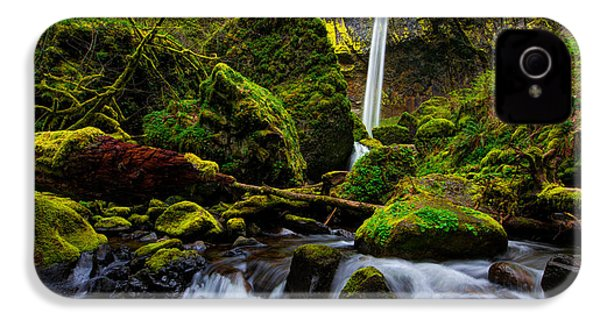 Green Seasons IPhone 4 Case by Chad Dutson