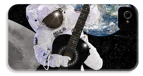 Ground Control To Major Tom IPhone 4 Case by Nikki Marie Smith