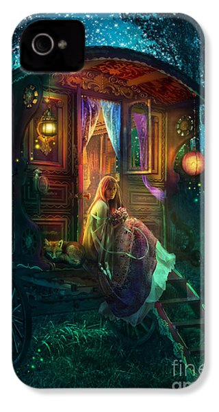 Gypsy Firefly IPhone 4 Case by Aimee Stewart