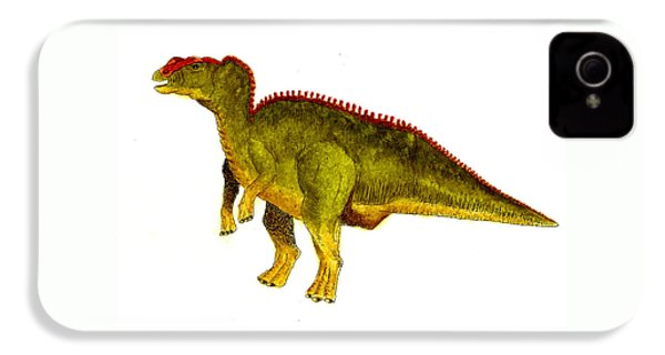 Hadrosaurus IPhone 4 Case by Michael Vigliotti