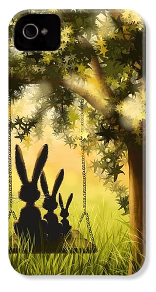 Happily Together IPhone 4 Case by Veronica Minozzi