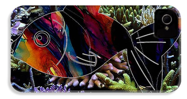 Fish In The Reef IPhone 4 / 4s Case by Marvin Blaine