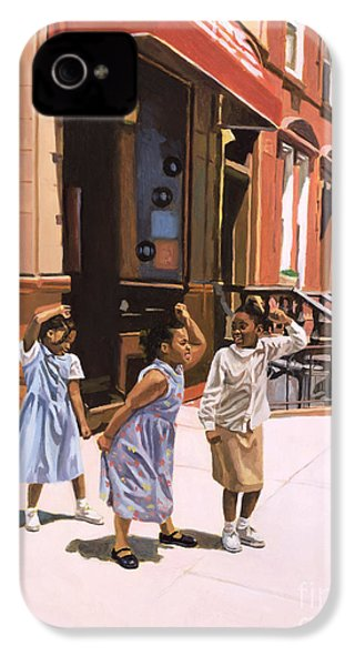 Harlem Jig IPhone 4 Case by Colin Bootman
