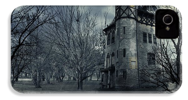 Haunted House IPhone 4 Case by Jelena Jovanovic