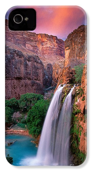 Havasu Falls IPhone 4 Case by Inge Johnsson