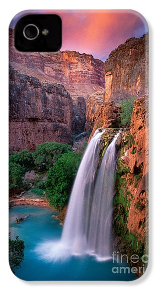 Havasu Falls IPhone 4 / 4s Case by Inge Johnsson