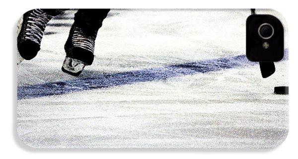He Skates IPhone 4 Case by Karol Livote