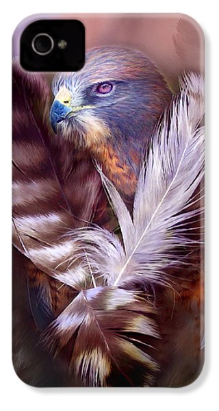 Heart Of A Hawk IPhone 4 Case