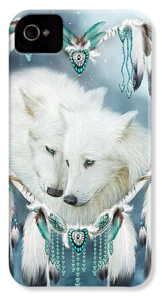 Heart Of A Wolf IPhone 4 Case