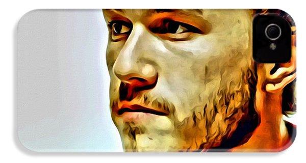 Heath Ledger Portrait IPhone 4 Case by Florian Rodarte