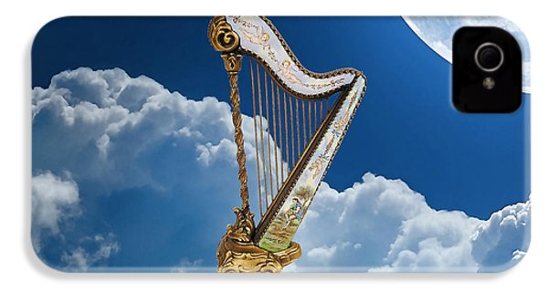 Heavenly Harp IPhone 4 / 4s Case by Marvin Blaine