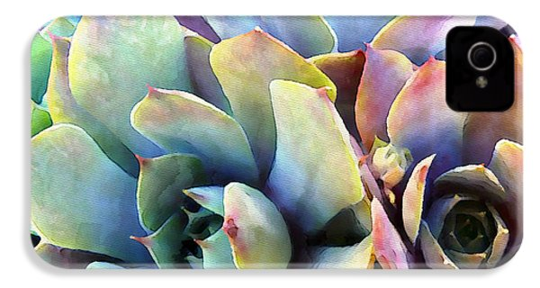 Hens And Chicks Series - Soft Tints IPhone 4 Case