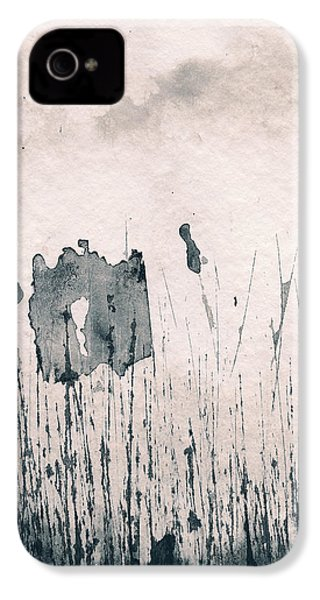 Herbes Souillees IPhone 4 Case by Marc Philippe Joly