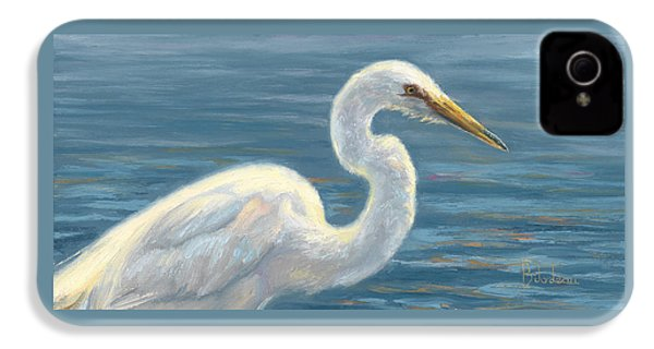 Heron Light IPhone 4 Case by Lucie Bilodeau
